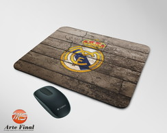 Mouse Pad Personalizado Real Madrid