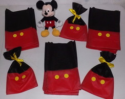 SACOLAS DE TNT MICKEY & MINNIE