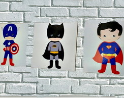 Quadros Decorativos - Super Her�is