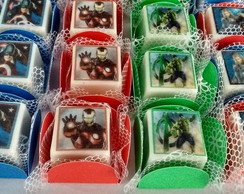 Bombons personalizados Super Herois