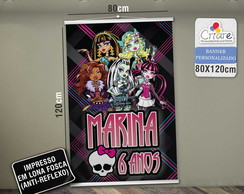 Banner Personalizado - Monster Hight