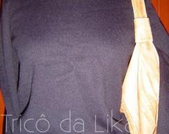 Blusa de mangas compridas