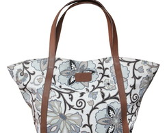 "Atacado: 5 pe�as ""Tote Bag Floral"""