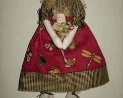Boneca Anjo Ticci