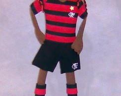 Boneco EVA 3d Love Flamengo