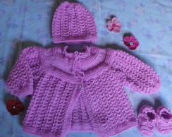 Conjunto Miss Pink Weak- 3 pe�as