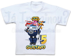 Camiseta Super Wings Paul