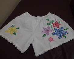 Short bordado adulto GG 63