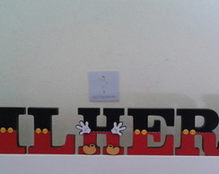 Letra Avulsa - Decorada MICKEY
