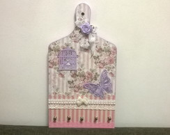 Porta Chaves ou X�caras Shabby Chic