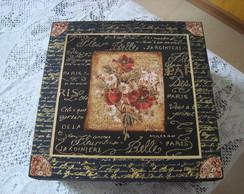 Caixa flores - VENDIDA