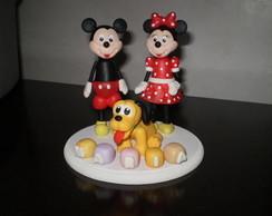 Topo de bolo turma do Mickey.
