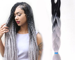 Kanecalon Jumbo Box Braids Cinza
