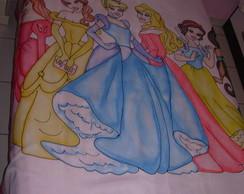 Cobre Leito Infantil As Princesas