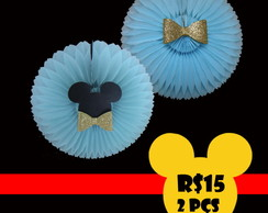 Kit decora��o mickey 2 pe�as fioratas