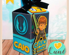 Caixa Milk star wars