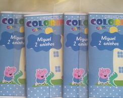 Kit de Colorir DiMagia George e Peppa
