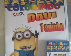 Kit de Colorir DiMagia Minions