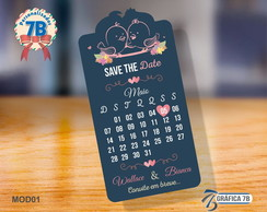 �m� SAVE THE DATE - 9X5cm