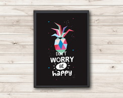 P�ster Don�t Worry be Happy