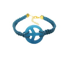 Pulseira Peace pedra Natural