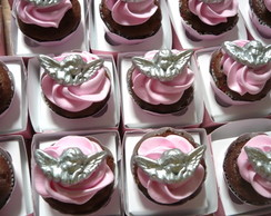 MINI CUPCAKE CHANTILI E APLIQUE COMEST.