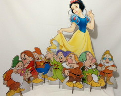 KIT DISPLAY DE CH�O DA BRANCA DE NEVE