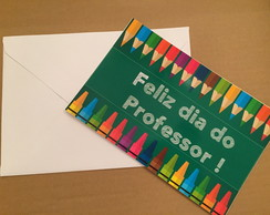 Cart�o Personalizado Dia do Professor