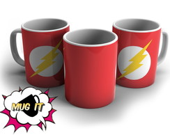 Caneca Branca The Flash 2