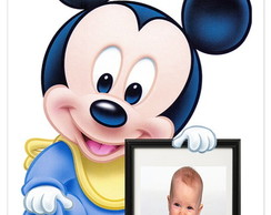 Display com foto Mickey Disney Baby