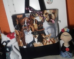 Ecobag dupla face Dogs