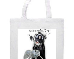 Bolsa Ecobag game of thrones jon snow