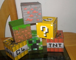 Blocos manecraft