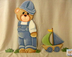 Urso com barquinho