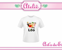 Camiseta Infantil Personalizada Chaves