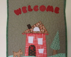 "PAN� PATCHWORK ""WELCOME"""
