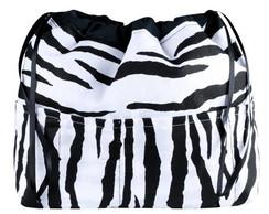 Organizador de bolsa - zebra