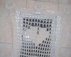 Cortina Croch� de Banheiro em Barbante!!