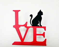 Love Cats - MDF (Pink)