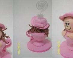 Lembrancinha ch� de beb� em EVA 3D