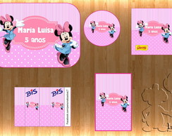 Arte Kit Digital - Minnie Rosa 2