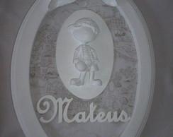 Enfeite de porta de maternidade - menino