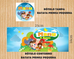 R�TULO BATATA PRINGS PEQ. S�TIO DO