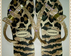 Havaianas Slim on�a com la�o de strass