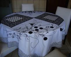 toalha mesa art�stica