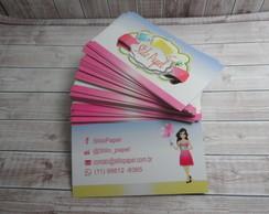 1000 Cartão De Visita-4x4 Verniz Uv F** comprar usado  Brasil
