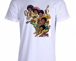 Camiseta Jackson Five 02 comprar usado  Brasil