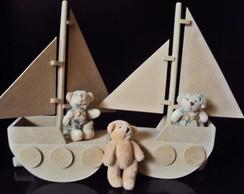 Barco mdf lembrancinha de anivers�rio