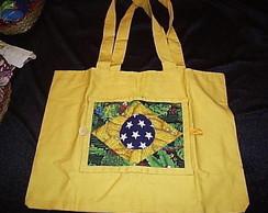 Bolsa-Carteira Bandeira Brasil