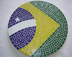 Bandeira - Mesa ou prato girat�rio